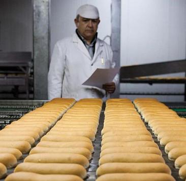 manufactura del pan