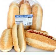 hotdog sin sesamo
