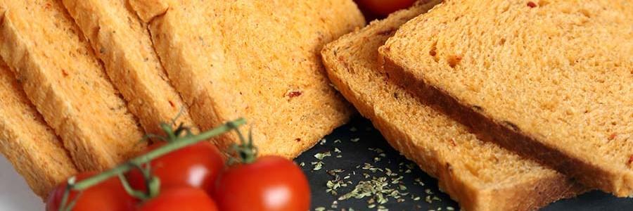 pan molde tomate